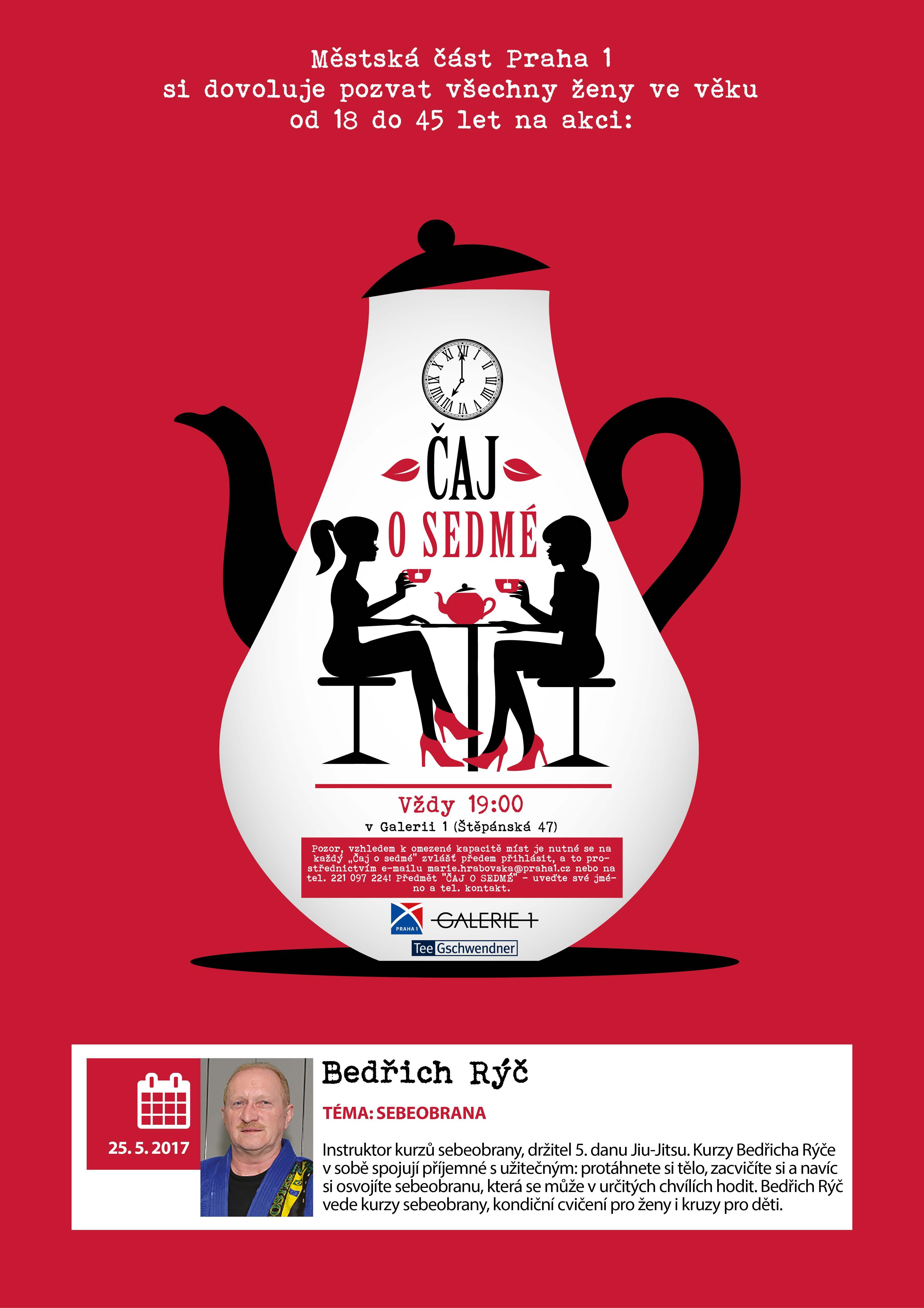 Čaj o sedmé s Bedřichem Rýčem