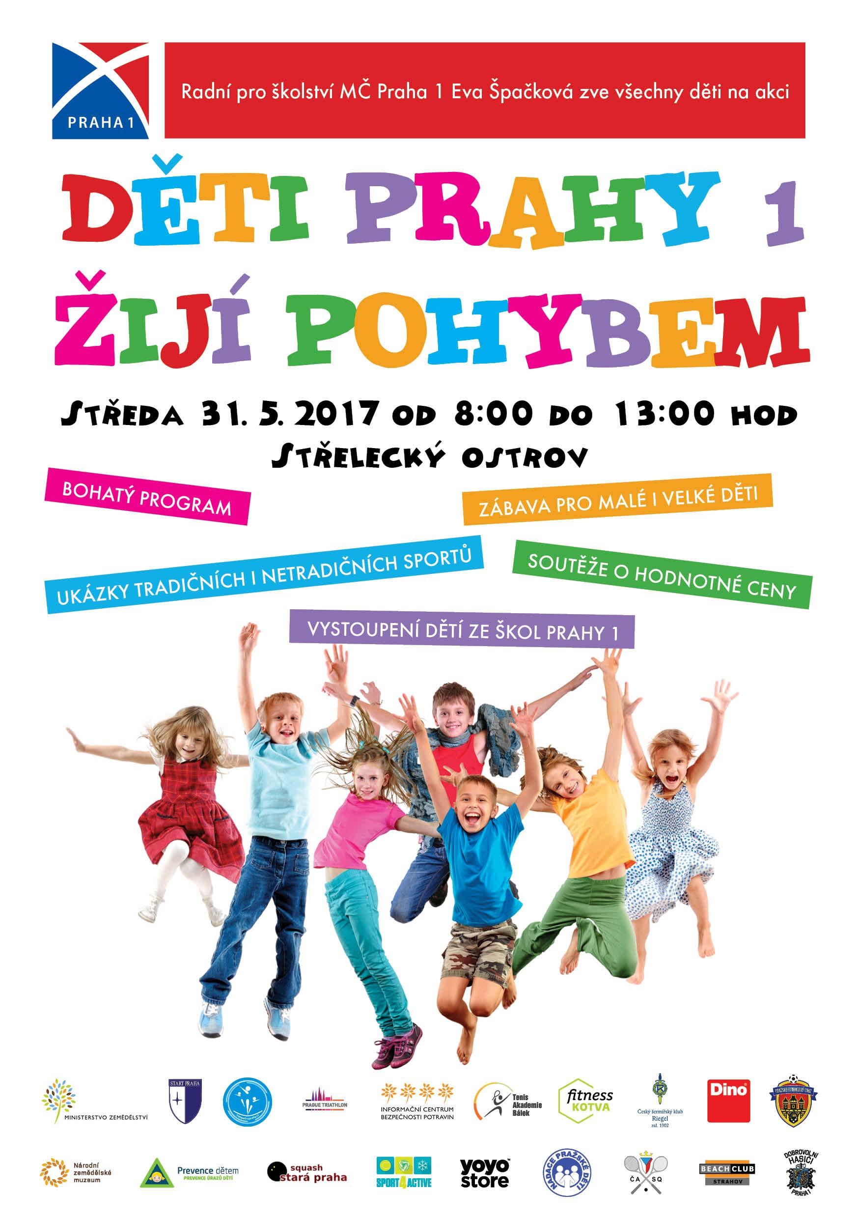 Děti Prahy 1 žijí pohybem