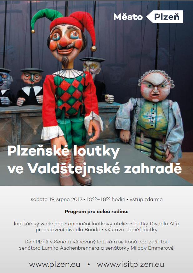 Plzeňské loutky ve Valdštejnské zahradě!