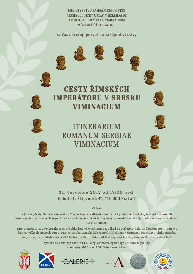 Výstava v Galerii 1 - CESTY ŘÍMSKÝCH IMPERÁTORŮ V SRBSKU VIMINACIUM