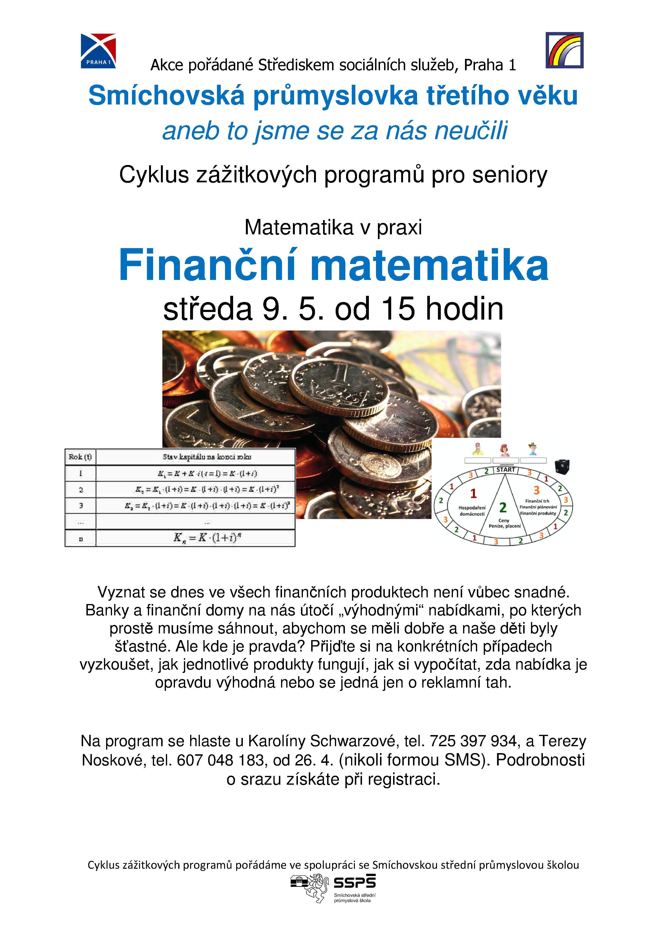 Finanční matematika 9.5.2018