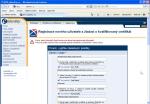 """Screenshot okna prohlížeče """"Žádost o kvalifikovaný certifikát"""""""