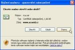 """Screenshot okna """"Stažení souboru"""""""