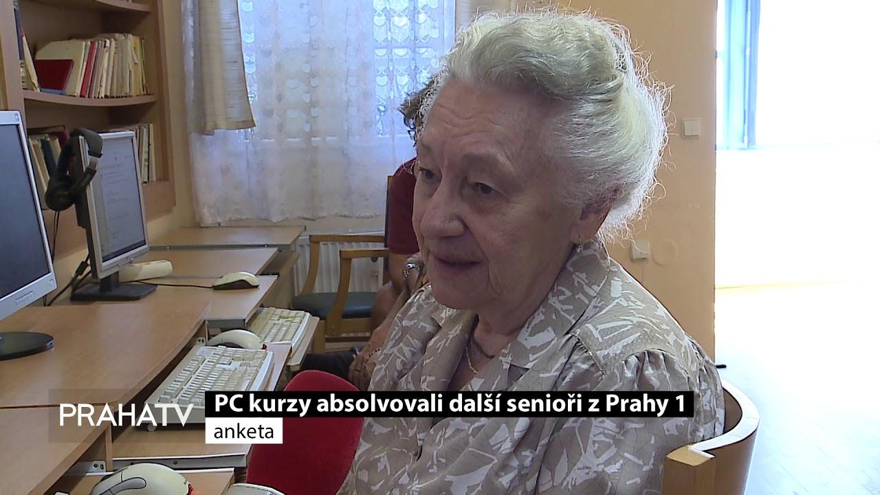 Počítačové kurzy absolvovali další senioři z Prahy 1