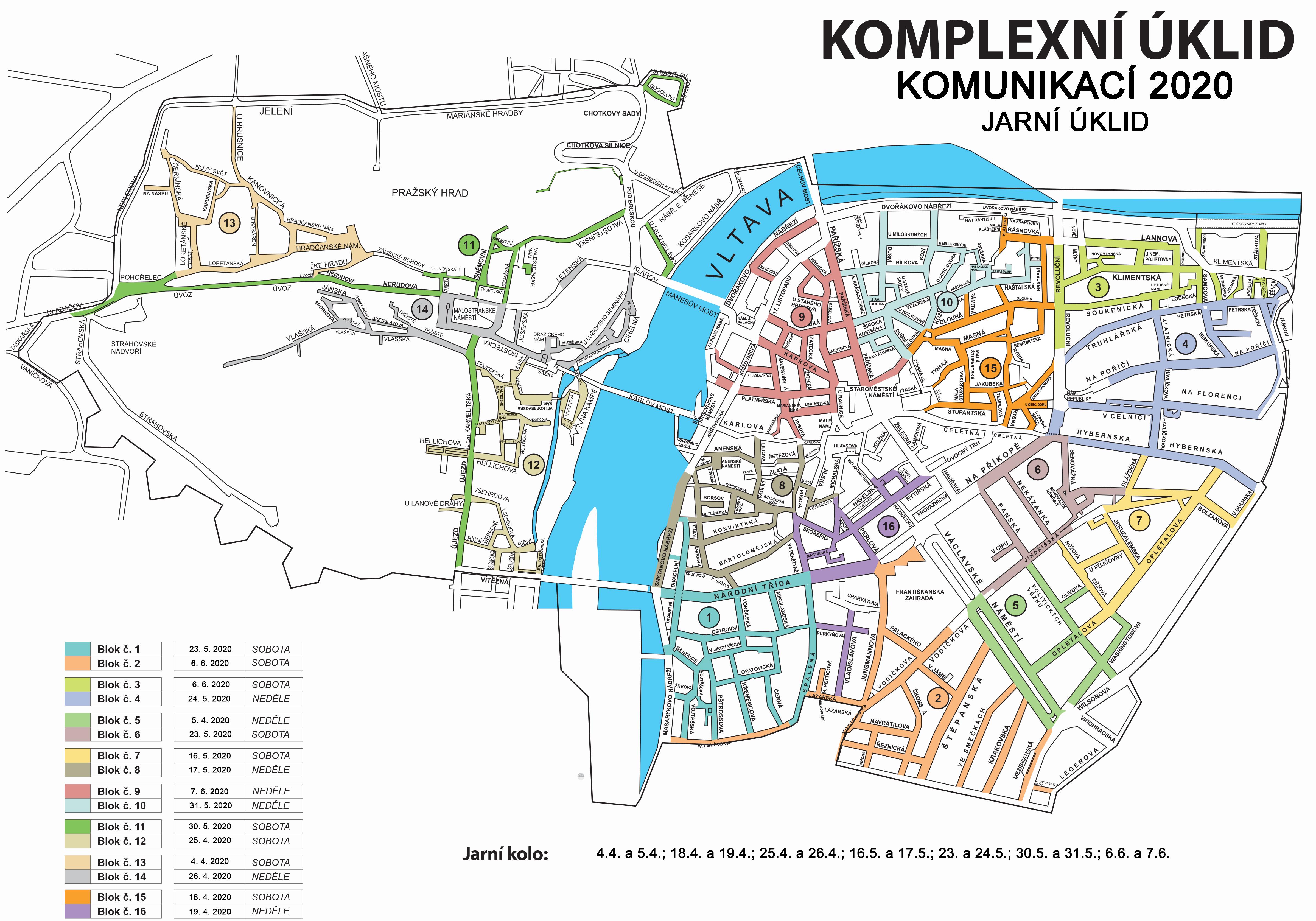 Komplexni Uklid Komunikaci Jaro 2020 Praha 1